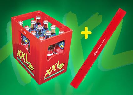 XXL + Lineal – jetzt im Getränkehandel